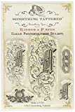 Something Tattered Clear Stamps, 4 by 4-Inch, Monogram Initial L