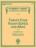 24 Italian Songs and Arias: Medium High Voice