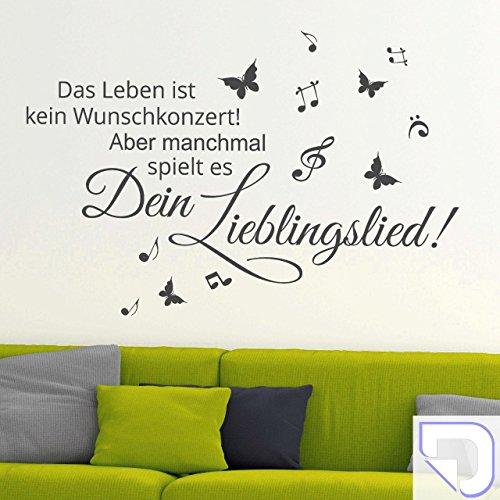 DESIGNSCAPE-Wandtattoo-Wunschkonzert-Das-Leben-ist-kein-Wunschkonzert-aber-manchmal-spielt-es-dein-Lieblingslied