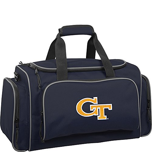 wallybags-georgia-tech-yellow-jackets-21-inch-collegiate-duffel-navy-one-size