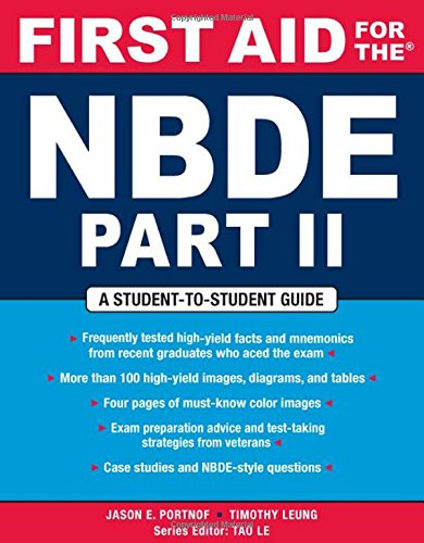 First Aid for the NBDE Part II (First Aid Series) (Pt. 2) (Nbde Ii compare prices)