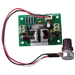 RioRand Upgraded RRCCM9SPC 12V-24V 3A DC Motor Speed Controller PWM Controller One-way Speed Governor from RioRand