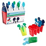 Official Disney Mickey Mouse Set Of 4 Popsicle Ice Lolly Treat Moulds