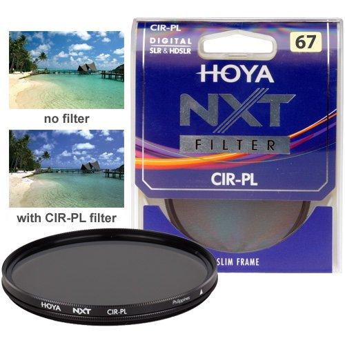 Hoya 67mm NXT Circular Polarizing Slim Frame Glass Filter