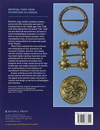 Dress Accessories, c. 1150- c. 1450 (Medieval Finds from Excavations in London)
