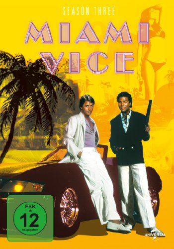 Miami Vice - Season 3 [6 DVDs]