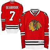 Chicago Blackhawks Brent Seabrook #7 Red Reebok Premier Stitched Jersey