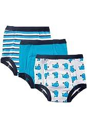 Luvable Friends 3-Pack Water Resistant Training Pants