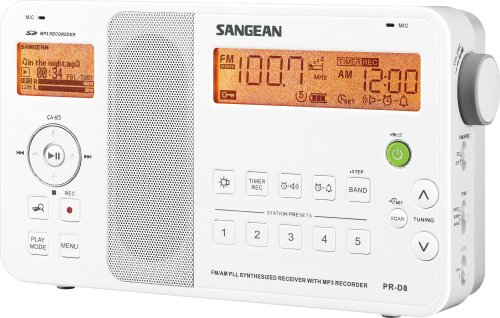 Sangean PR-D8 Portable Digital AM/FM Stereo Receiver