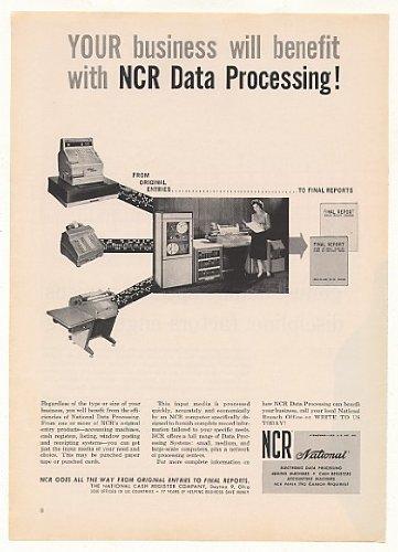 1961-ncr-data-processing-computer-system-original-print-ad
