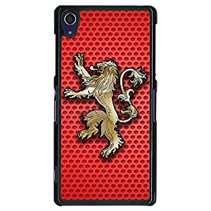 Jugaaduu Game Of Thrones GOT House Lannister Back Cover Case For Sony Xperia Z1