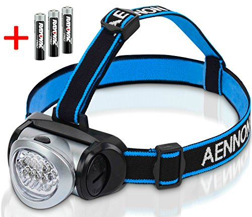 LED-Headlamp-Flashlight-with-Red-Lights-for-Running-Camping-Reading-Kids-DIY-More-Super-Bright-Lightweight-Comfortable-Headlamps-come-with-Batteries