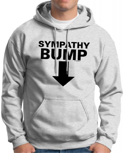 Sympathy Bump Hoodie Sweatshirt Medium Ash back-687500