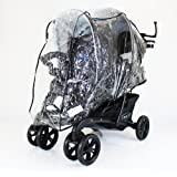 (New Design) Graco Quattro Duo Twin Tandem Double Raincover