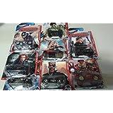 Complete Set Of Hot Wheels Marvel Avengers
