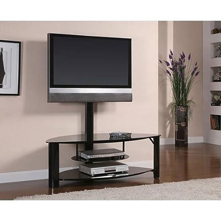 Coaster Home Furnishings 700667 Contemporary TV Console, Black