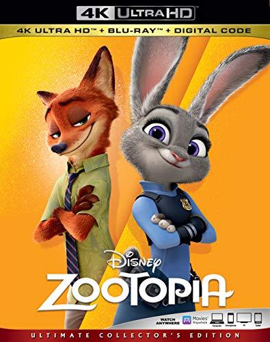 4K Blu-ray : Zootopia (2 Discos)