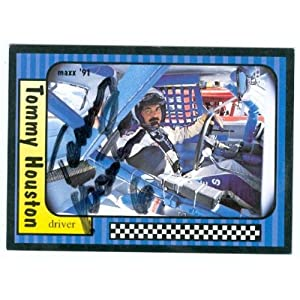 Houston Auto Racing on Amazon Com  Tommy Houston Autographed Trading Card  Auto Racing  Maxx