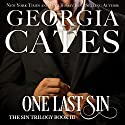 One Last Sin Audiobook by Georgia Cates Narrated by Jennifer Mack, Antony Ferguson