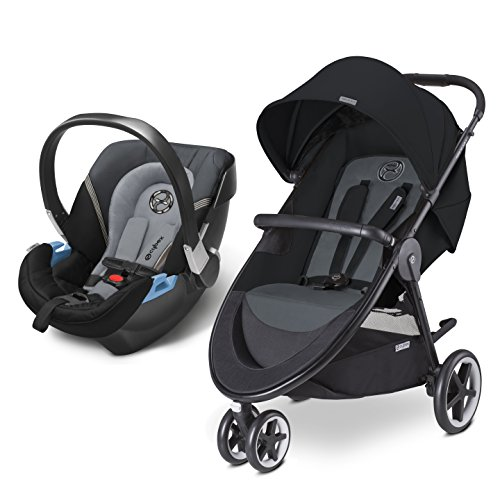 CYBEX Agis M-Air 3/Aton 2/Aton Base 2 Travel System, Moon Dust (Air 3 compare prices)