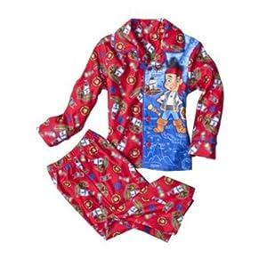 Disney Jake and the Neverland Pirates Pajama Set - Toddler Little Boys (2T)