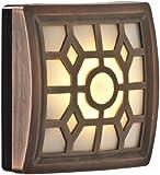 Fulcrum 30300-307 4 LED Soft-Glow Sensor Light, Bronze