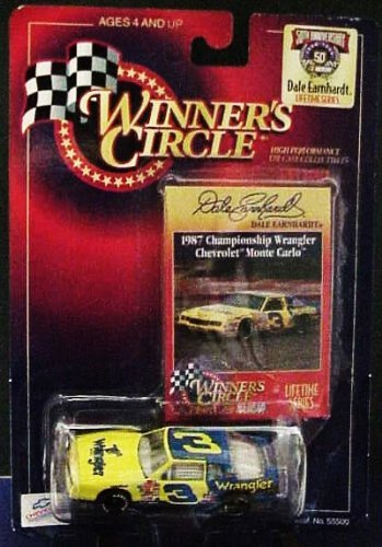 Dale Earnhardt Sr #3 1987 Championship Wrangler Monte Carlo 1/64 Scale Diecast Winners Circle Lifetime Series