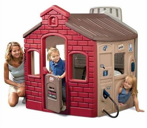An Image of Little Tikes Endless Adventures Tikes Town Playhouse