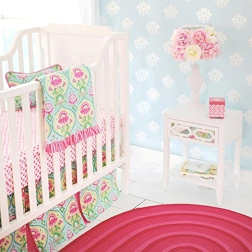 New Arrivals 2 Piece Crib Set, Layla Rose