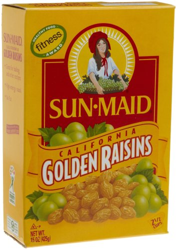 Sun Maid California Golden Raisins, 15-Ounce Boxes (Pack ...