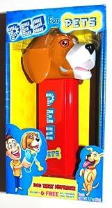 "Extra Large 8"" Beagle Dog Pez Treat Dispenser with 6 Treats"