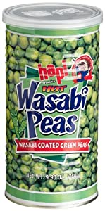 Hapi Hot Wasabi Peas 99-ounce Tins Pack Of 4 from Hapi