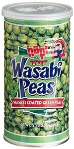 Hapi Hot Wasabi Peas 99-ounce Tins Pack Of 4 from Hapi