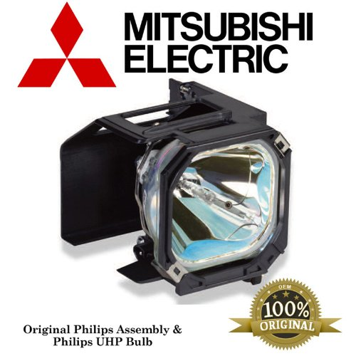 Mitsubishi 915P043010 Projector TV Assembly with OEM Bulb and Original Housing original projector replacement lamp 5j j1v05 001 bulb for benq mp524 mp525p mp525st mp525v mp575 mp575 v mp575st projector