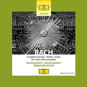 Suites For Solo Stringed Instruments Sollscher Mintz by Deutsche Grammophon
