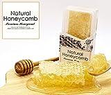 コムハニー 巣蜜 Natural Honeycomb 100%純粋 230g 巣楚不使用で食べやすい!!