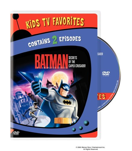 Batman The Animated Series - Secrets of the Caped Crusader, Vol. 1 (Kids TV Favorites)