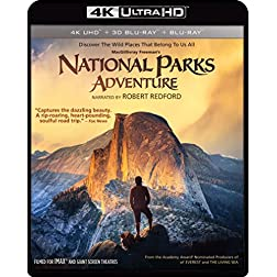 IMAX: National Parks Adventure [4K Ultra HD + Blu-ray]