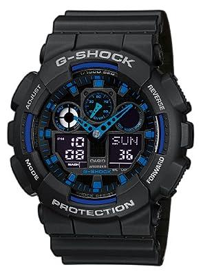 G-Shock Men's Quartz Watch with Analogue Digital Display and Resin Bracelet