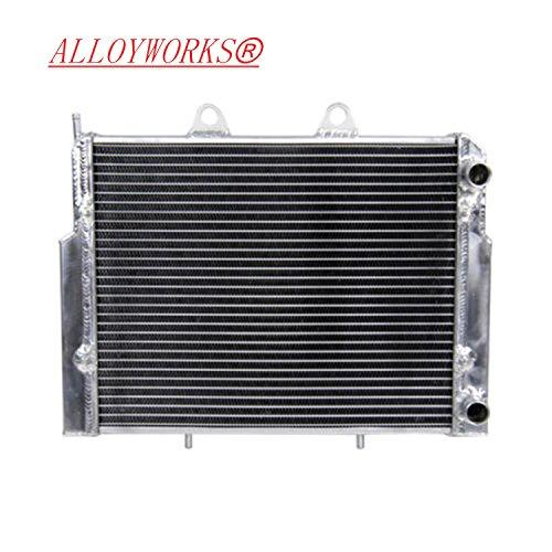 ALLOYWORKS Aluminum Radiator for POLARIS RZR 4 800 / RZR 800 / RZR S 800 2007-2011 (Walker Radiator compare prices)