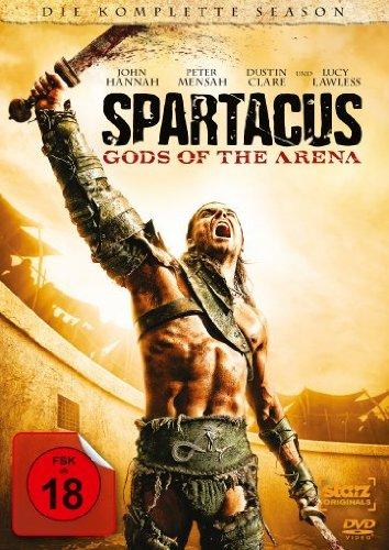 Spartacus: Gods of the Arena - Die komplette Season [3 DVDs]