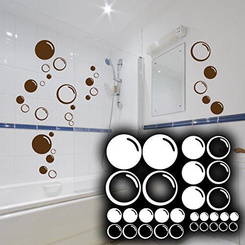 Wandkings-Wandtattoo-Seifenblasen-im-Set-30-Stck-Gre-SMALL-in-braun-erhltlich-in-33-Farben