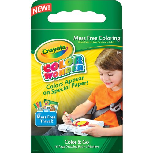 Crayola 75-0229 Color Wonder Mess Free Color and Go Kit