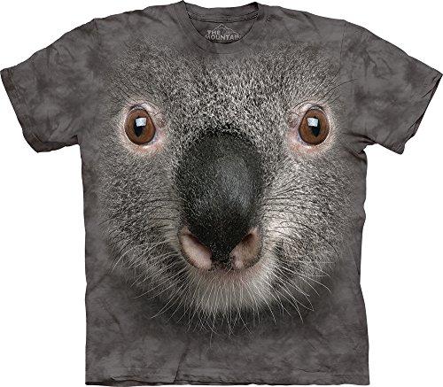 Grey Koala Face Kids T-Shirt