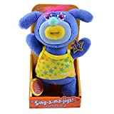 Sing A Ma Jigs Violet Sings 99 Sing-A-Ma-Jigs (On The Wall) Musical Toy