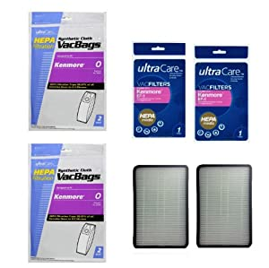 Amazon Com 11 Kenmore Type U Premium Allergen Filtration