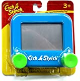 Ohio Art Pocket Etch A Sketch (Blue with Green Knobs)