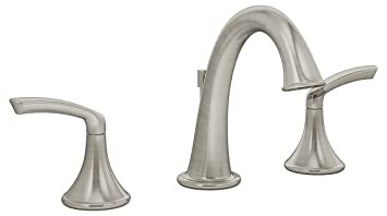 Symmons SLW-5512-STN Elm Wide Spread Faucet, Satin