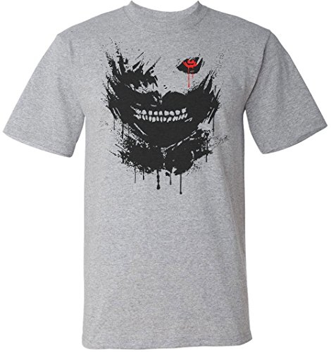 Tokyo Ghoul Portrait With Black Eye Men's T-Shirt Small