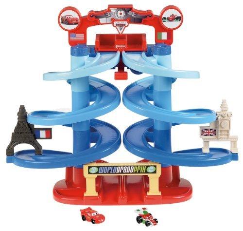 Fisher-Price Disney/Pixar Cars 2 Spiral Speedway Grand Prix Children, Kids, Game front-877943